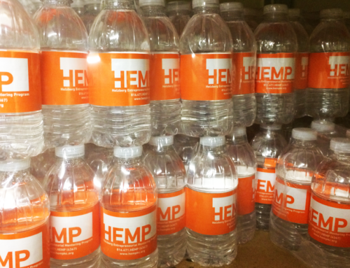 Custom Label Water Bottles – Business Client