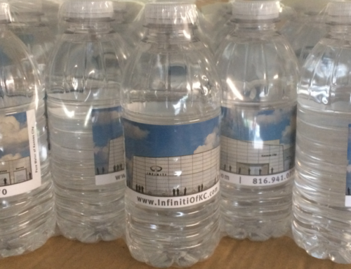 Custom Label  Bottled Water – Car Dealership Client